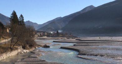 Lago di Barcis e torrente Cellina, i lavori per lo sghiaiamento iniziano a novembre