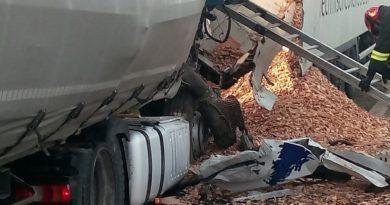 Maxitamponamento in A4 presso lo svincolo di Villesse. Due feriti, uscita obbligatoria