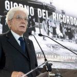 Il presidente della Repubblica Sergio Mattarella celebra il Giorno del Ricordo