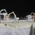 Terza corsia A4: demolito ponte nella notte fra sabato 13 e domenica 14 aprile