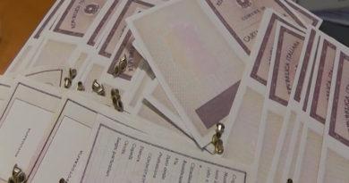 Scoperto alla frontiera di Tarvisio traffico di documenti in bianco destinati alla falsificazione