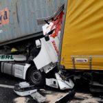 Un morto ed un ferito in A4 in uno scontro fra 4 camion tra Villesse e Palmanova. Chiuso il tratto autostradale