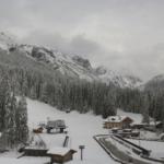 Bizze del clima: Carnia sotto la neve. Possibile causa il riscaldamento eccessivo della stratosfera