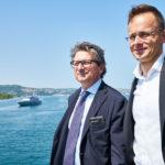 All'Ungheria 350mila mq di banchina nel porto di Trieste. Ne farà un proprio terminal import-export