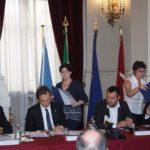 Visita lampo del vicepremier Matteo Salvini a Trieste. Porto e migranti i temi affrontati