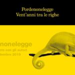 Pordenonelegge festeggia i suoi vent'anni con un camaleonte e due nuovi progetti