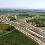 Aperto il primo tratto a tre corsie dell'A4 in Friuli Venezia Giulia tra Palmanova e Gonars