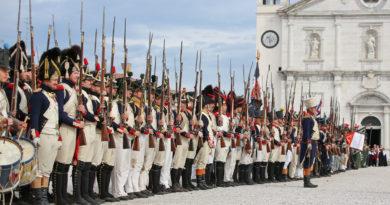 Assedio napoleonico e battaglia a Palmanova: le gallerie di foto della rievocazione storica
