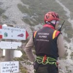 Escursionista ungherese salvata e recuperata sul Mangart