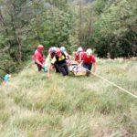 Caduta di quindici metri sopra Barcis: due anziani escursionisti salvati dal Soccorso Alpino