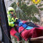 Soccorsa e recuperata un'escursionista infortunata in Val Cimoliana