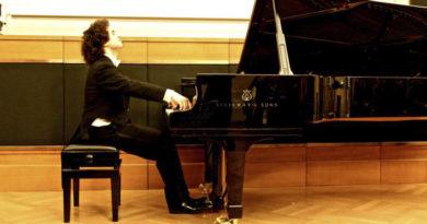 """Sebastian Di Bin al Festival Pianistico """"Giovani Interpreti e Grandi Maestri"""""""