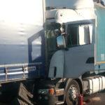 Tamponamento tra TIR in A4 fra Latisana e Portogruaro, ferito l'autista. Chiuso tratto autostradale