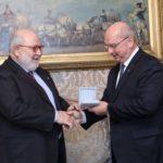 Il Sigillo Trecentesco del Comune di Trieste all'Ambasciatore Caracciolo di Vietri: cerimonia in Municipio