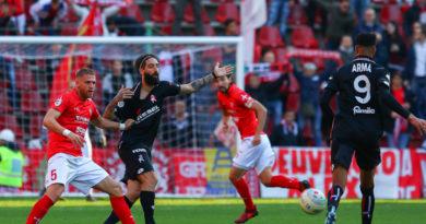 La Triestina incassa tre gol e perde in casa contro un brillante Vicenza. Le foto