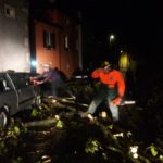 Piogge intense e vento di libeccio, danni in varie località del Friuli Venezia Giulia