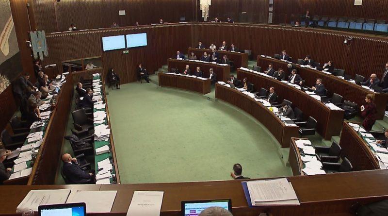 Il Consiglio regionale approva la legge di stabilità per il 2020
