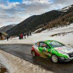 L'equipaggio friulano Prosdocimo - Zanet in evidenza al Mondiale Rally di Montecarlo