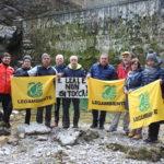 La protesta dei pesci di fiume. Sit-in in montagna contro gli incentivi al mini idroelettrico