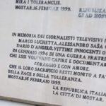 Anniversario dell'eccidio di Marco Luchetta, Alessandro Ota e Dario D'Angelo