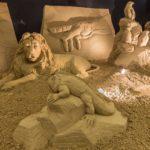 Presepe di sabbia di Lignano, visite da record. Aperto tutti i fine settimana fino al 2 febbraio