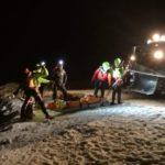 Scialpinisti carinziani a Sella Nevea scivolano per 300 metri, salvati dal CNSAS