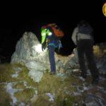 Escursionista sorpresa dalle tenebre sul Matajur, soccorsa dai tecnici del CNSAS FVG