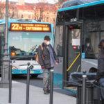 Trasporto pubblico regionale, al via più corse con misure di distanziamento passeggeri