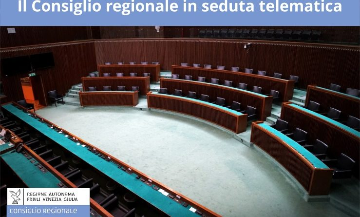 Prima seduta telematica del Consiglio regionale. La relazione del governatore