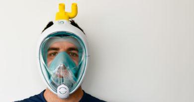I makers del FabLab di Udine producono valvole per respiratori ricavati da maschere da snorkeling