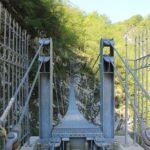 Riapre al pubblico la Vecchia strada della Valcellina con il Trenino della Valcellina e il Ponte Tibetano