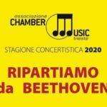 """""""Ripartiamo da Beethoven"""" con Chamber Music Trieste"""