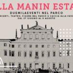 Villa Manin Estate 2020 oltre venti appuntamenti in meno di due mesi