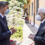 I presidenti della Repubblica italiana e slovena, Sergio Mattarella e Borut Pahor, in visita congiunta a Trieste. Video