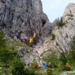 Un alpinista di Trieste cade per quaranta metri sotto il Monte Peralba, grave all'ospedale