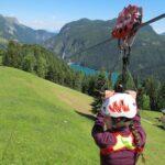 Inaugurata a Sauris la Zipline più lunga d'Europa: giù lungo un cavo a 100 m d'altezza per 3km