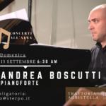 Andrea Boscutti conclude la prima rassegna musicale sul fiume Stella