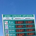 Prezzi dei carburanti sulle autostrade, benzacartelloni e altri servizi di Autovie Venete