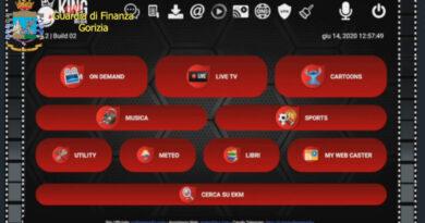 Streaming pirata, la Finanza di Gorizia sequestra siti, domini alias e canali telegram. Rischio penale per gli utenti
