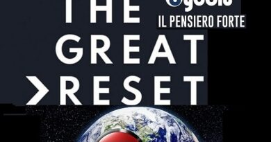"L'evento culturale: ""The Great Reset"". Il programma: relatori, orari e frequenze"