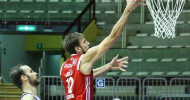 Basket: dopo tre sconfitte contro l'Allianz la Dinamo Sassari si prende la rivincita. Le foto