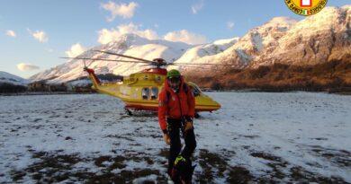 Il Soccorso Alpino e Speleologico del FVG partecipa alla ricerca di 4 scialpinisti dispersi sul Velino