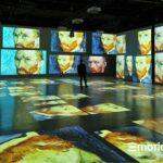 """""""Van Gogh. Il sogno"""" Immersive Art Experience: arte multimediale nella nuova EmotionHall al Tiare Shopping. Video"""