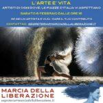 """""""L'ARTE È VITA"""". Sabato 6 febbraio artisti in piazza a Udine e Monfalcone"""