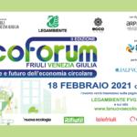 Legambiente FVG: seconda edizione di Ecoforum evento online dedicato all'economia circolare