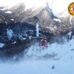 Muore uno sciatore a Sella Nevea travolto dal distacco di un lastrone di neve ventata