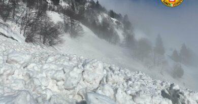 Valanga sulla pista di sci al Piancavallo, nessun danno a persone e cose