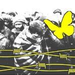 """""""Un ponte di corpi"""", sit-in per i diritti umani a Trieste."""