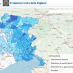 Monitoraggio settimanale Covid, il Friuli Venezia Giulia tra le 5 regioni a rischio più alto