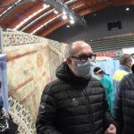 Prove generali per le vaccinazioni di massa al palazzetto dello sport di Cividale
